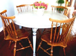 Ethan Allen Dining Room Sets Used by Livingston Dining Table With Ethan Allen Room Chairs Bombadeagua Me