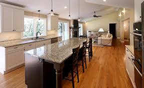 White Cabinets Dark Grey Countertops by Open Galley Kitchen Design Caruba Info
