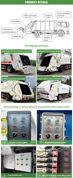 100 Garbage Truck Manufacturers China 6m3 Compactor Suppliers Factory