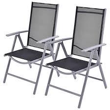 Folding Patio Chairs Amazon by Amazon Com Giantex Set Of 2 Patio Folding Chairs Adjustable