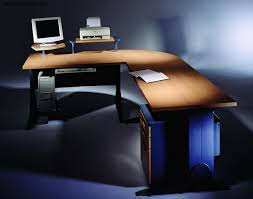 Modern Computer Desk L Shaped by L Shaped Computer Desk U2013 Office Furniture With Excellent Ergonomics