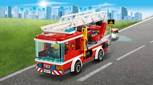 Fire Ladder Truck 60107 - LEGO City Sets - LEGO.com For Kids - US