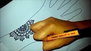 Arabic Floral Henna - Easy Mehndi Design On Paper - How To Draw ... Top 10 Diy Easy And Quick 2 Minute Henna Designs Mehndi Easy Mehendi Designs For Fingers Video Dailymotion How To Apply Henna Mehndi Step By Tutorial 35 Best Mahendi Images On Pinterest Bride And Creative To Make Design Top Floral Bel Designshow Easy Simple Mehndi Designs For Hands Matroj Youtube Hnatrendz In San Diego Trendy Fabulous Body Art Classes Home Facebook Simple Home Do A Tattoo Collections