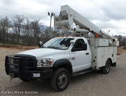 2009 Dodge Ram 5500 Bucket Truck | Item K3293 | SOLD! April ...