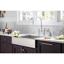 Self Trimming Apron Front Sink by Kohler K 3943 Na Vault Undercounter Single Basin Stainless Steel