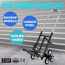 PORTABLE STAIR CLIMBING Folding Cart Climb Moving Up To 420lb Hand ... Magna Cart Ideal Hand Truck Review Appliance Dolly Info Rubbermaid Commercial Products Heavyduty Wayfair Portable Stair Climbing Folding Climb Moving Up To 420lb Cart Ideal Hand Truck Collapsible Trucks Flatform 300 Lb Capacity Four Wheel Top 10 Best Luggage Carts Reviews Platform Northern Tool Equipment Alinum The Of 2018 440lb Climbing