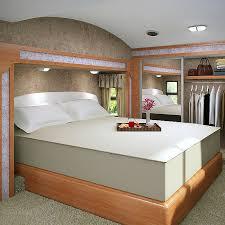 Accu Gold Memory Foam Mattress 13 inch California King size Bed