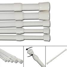 Spring Loaded Curtain Rod 300cm by Curtain Rods Ebay