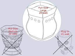 Lava Lamp Bulb Walmart by Amazon Com Watt 25 Watt Bulb 4 Pack Replacement For Scentsy