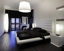 Bedroom Design Ideas White Walls With Black 7