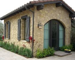Exterior Interesting Tuscan Window Shutters With Wall Mounted