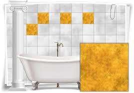 fliesen aufkleber fliesen bild mosaik kachel struktur gelb sticker bad wc küche