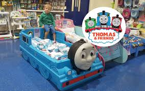 Thomas The Tank Engine Toddler Bed by Giant Thomas And Friends Kids Toy Train Bed Huge Thomas The Tank