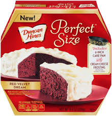 Dollar Tree $0 25 Duncan Hines Perfect Size Cake Mix FREE