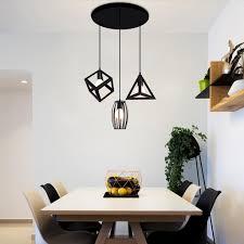 3er set kronleuchter pendelleuchte für esstisch esszimmerle wohnzimmer le schlafzimmer küche vintage ohne glühbirne