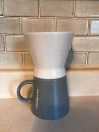 Image Is Loading STARBUCKS Coffee Classic Pour Over Ceramic Brewer Dripper