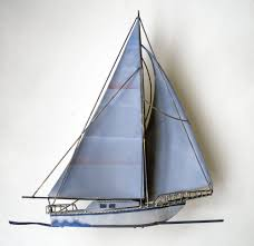 Sailboat Wall Decor Metal by Trendy Large Sailboat Wall Decor D Coastal Sailboat Boat Sailing