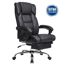 KADIRYA Reclining Leather Office Chair-High Back Executive Chair With  Adjustable Angle Recline Locking System And Footrest Thick Padding For  Comfort ... Kadirya Recling Leather Office Chairhigh Back Executive Chair With Adjustable Angle Recline Locking System And Footrest Thick Padding For Comfort Lazboy Steve Contemporary Europeaninspired Moby Black Low Flash Fniture High Burgundy The Best Office Chair Of 2019 Creative Bloq Keswick Lift Rise Strless Ldon Nationwide Delivery City Batick Snow Chrome Base Recliner By Ekornes Gaming Chairs Obg65bk Details About Ergonomic Armchair
