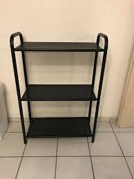 metall regal wohnzimmer stabil schwarz neuwertig