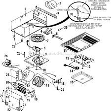 Broan Duct Free Bathroom Fan by Broan 657 Parts List And Diagram Ereplacementparts Com