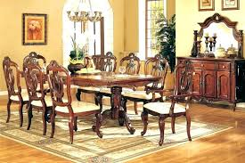 Mahogany Dining Room Set Elegant Tables Formal