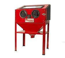 central pneumatic 40 lb capacity floor blast cabinet 792363688932
