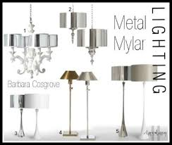 Barbara Cosgrove Lamps Contact by Metal Mylar Lighting Barbara Cosgrove Clayton Gray Home