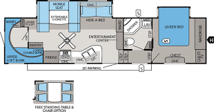 Jayco Fifth Wheel Floor Plans 2018 by Jayco Fifth Wheel Floorplans Jims Rv Center