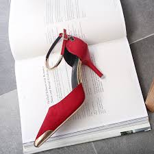 aliexpress com buy gamiss high heels ladies pumps suede gold