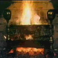 Animated Stove Photo Fireplace Fire