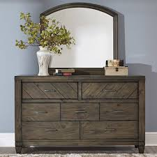 Wayfair Dresser With Mirror by Liberty Furniture 7 Drawer Dresser With Mirror U0026 Reviews Wayfair