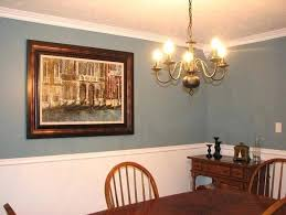 Paint Color Ideas For Dining Room With Chair Rail