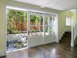 San Francisco Exterior Pocket Door Patio Contemporary With Recessed Lighting V Professionals Foyer