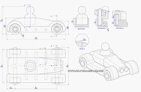 automobile toy plan