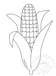 Coloring Pages Of Corn Home