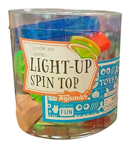 Toysmith - Light Up Spin Top