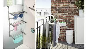 pour etendre le linge aménager un coin buanderie dans une salle de bains