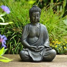 dhyana buddha garten buddha figur 38cm