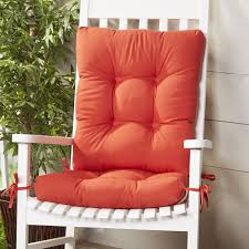 Outdoor 2 Piece Rocking Chair Cushion Set | Rocking Chair ...