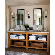 Small Rustic Bathroom Vanity Ideas by Bahtroom Small Ceiling Lamp Above Casual Pine Bathroom Vanity