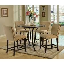 5 Piece Oval Dining Room Sets by Furniture Counter Height Table Sets For Elegant Dining Table