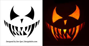 Scariest Pumpkin Carving Ideas by 20 Free Scary Halloween Pumpkin Carving Stencils Faces U0026 Ideas