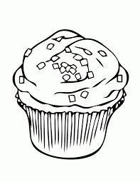 Cupcake Coloring Pages s