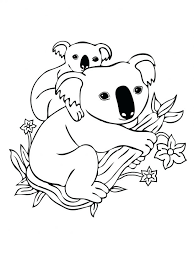 Australia Flag Coloring Pages Australian Aboriginal Printable Colouring Free Koala For Kids