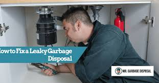 how to fix a leaky garbage disposal mr garbage disposal