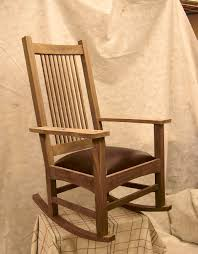 mission style rocking chair plans design home u0026 interior design