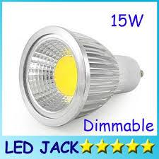 dimmable led cob l par16 15w e27 gu10 e14 gu5 3 85 240v mr16