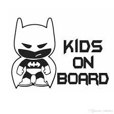 100 Batman Truck Accessories 2019 Funny Kid On Board Auto Vinyl Sticker Car Window Bumper