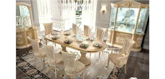 Italian Dining Room Sets Classic Set Made In Buffet And Mirror China