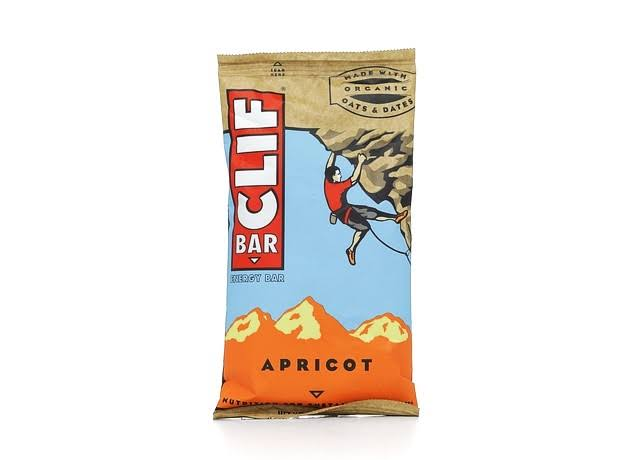 Clif Organic Energy Bar - Apricot, 2.4oz